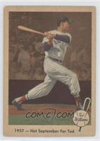 1957 - Hot September For Ted (Ted Williams) [GoodtoVG‑EX]
