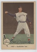 1957- Outfielder Ted [Good to VG‑EX]