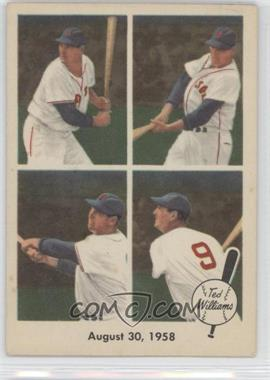 1959 Fleer Ted Williams #65 - August 30, 1958