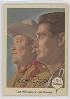 Ted Williams and Jim Thorpe