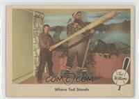 Where Ted Stands (Ted Williams) [GoodtoVG‑EX]