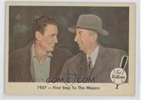 1937 - First Step To The Majors