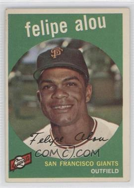 1959 Topps - [Base] #102 - Felipe Alou