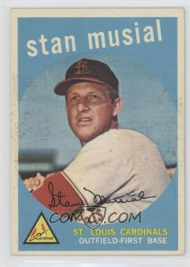 1959 Topps - [Base] #150 - Stan Musial [Good to VG‑EX]
