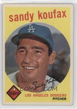 1959 Topps - [Base] #163 - Sandy Koufax [GoodtoVG‑EX]