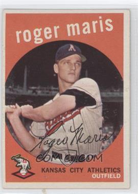 1959 Topps - [Base] #202.1 - Roger Maris (grey back)