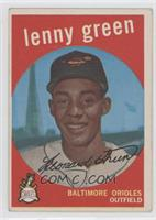 Lenny Green (white back)