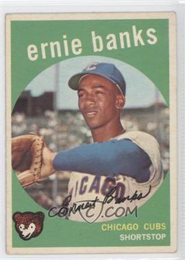 1959 Topps - [Base] #350 - Ernie Banks