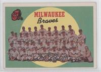 Milwaukee Braves Team [GoodtoVG‑EX]