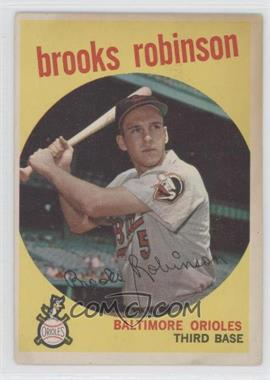 1959 Topps - [Base] #439 - Brooks Robinson
