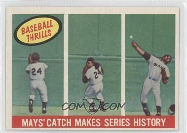 1959 Topps - [Base] #464 - Willie Mays