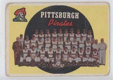 1959 Topps - [Base] #528 - Pittsburgh Pirates Team [GoodtoVG‑EX]