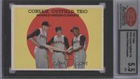 Corsair Outfield Trio (Bob Skinner, Bill Virdon, Roberto Clemente) [ENCASED]