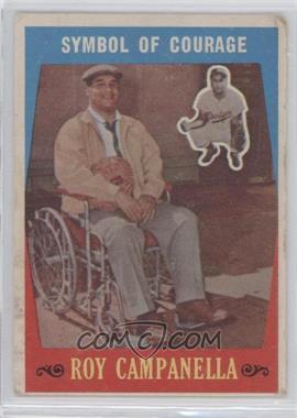 1959 Topps - [Base] #550 - Roy Campanella [GoodtoVG‑EX]