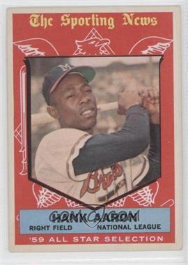 1959 Topps - [Base] #561 - Hank Aaron