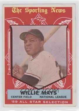 1959 Topps - [Base] #563 - Willie Mays