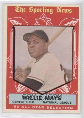 1959 Topps - [Base] #563 - Willie Mays