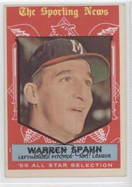 1959 Topps - [Base] #571 - Warren Spahn