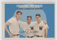 Jim Lemon, Cookie Lavagetto, Roy Sievers