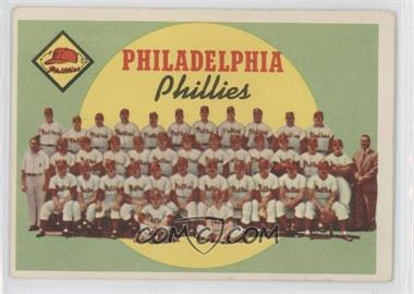 1959 Topps - [Base] #8 - Philadelphia Phillies Team (First Series Checklist)