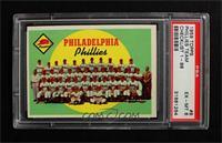 Philadelphia Phillies Team (First Series Checklist) [PSA6]