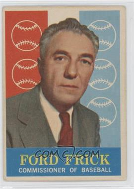 1959 Topps #1 - Ford Frick