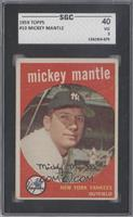Mickey Mantle [SGC 40]