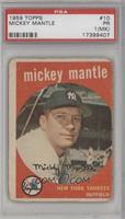 Mickey Mantle [PSA 1 (MK)]