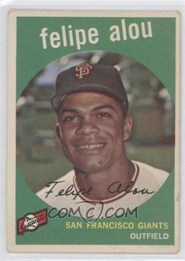 1959 Topps #102 - Felipe Alou