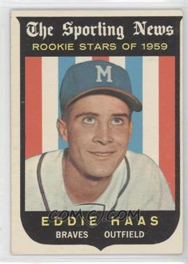 1959 Topps #126 - Eddie Haas [Good to VG‑EX]