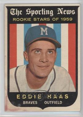 1959 Topps #126 - Eddie Haas [PoortoFair]