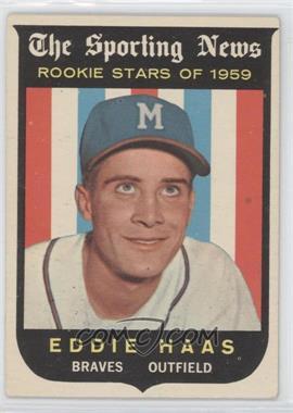 1959 Topps #126 - Eddie Haas