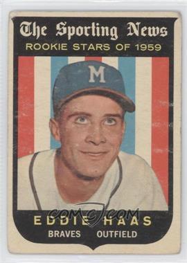 1959 Topps #126 - Eddie Haas [GoodtoVG‑EX]