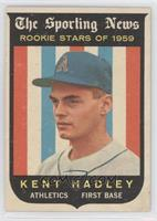 Kent Hadley [Good to VG‑EX]