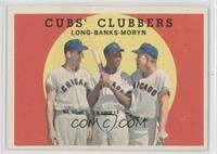 Cubs' Clubbers (Dale Long, Ernie Banks, Walt Moryn)