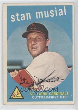 1959 Topps #150 - Stan Musial [GoodtoVG‑EX]