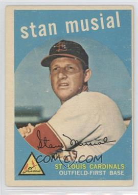 1959 Topps #150 - Stan Musial [Good to VG‑EX]