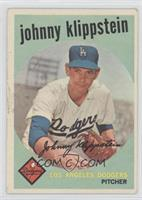 Johnny Klippstein [Good to VG‑EX]