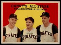 Danny's All-Stars (Frank Thomas, Danny Murtaugh, Ted Kluszewski) [NM]