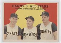 Danny's All-Stars (Frank Thomas, Danny Murtaugh, Ted Kluszewski)