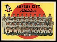 Kansas City Athletics Team (3rd Series Checklist 177-242) [EX MT]