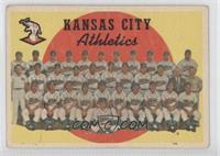 Kansas City Athletics Team (3rd Series Checklist 177-242) [PoortoFa…