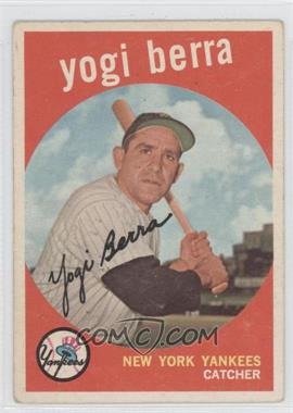 1959 Topps #180 - Yogi Berra [GoodtoVG‑EX]