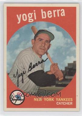 1959 Topps #180 - Yogi Berra