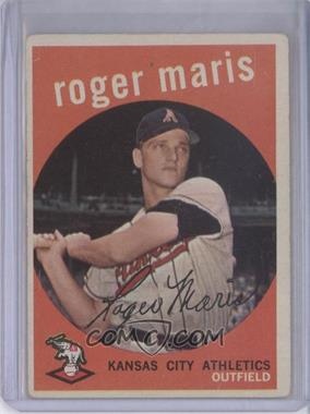 1959 Topps #202.1 - Roger Maris (grey back) [Good to VG‑EX]
