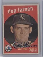 Don Larsen (grey back) [JSACertifiedAuto]