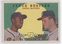 Fence Busters (Hank Aaron, Eddie Mathews) [GoodtoVG‑EX]