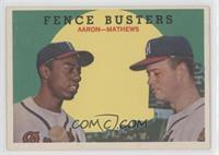 Fence Busters (Hank Aaron, Eddie Mathews)