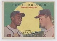 Fence Busters (Hank Aaron, Eddie Mathews) [Good to VG‑EX]