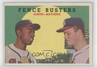 Fence Busters (Hank Aaron, Eddie Mathews) (Grey Back)